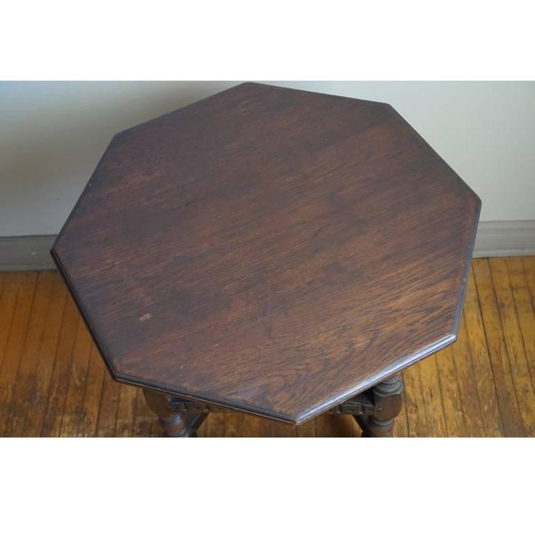 19th Century Jacobean Occasional Table For Sale 1