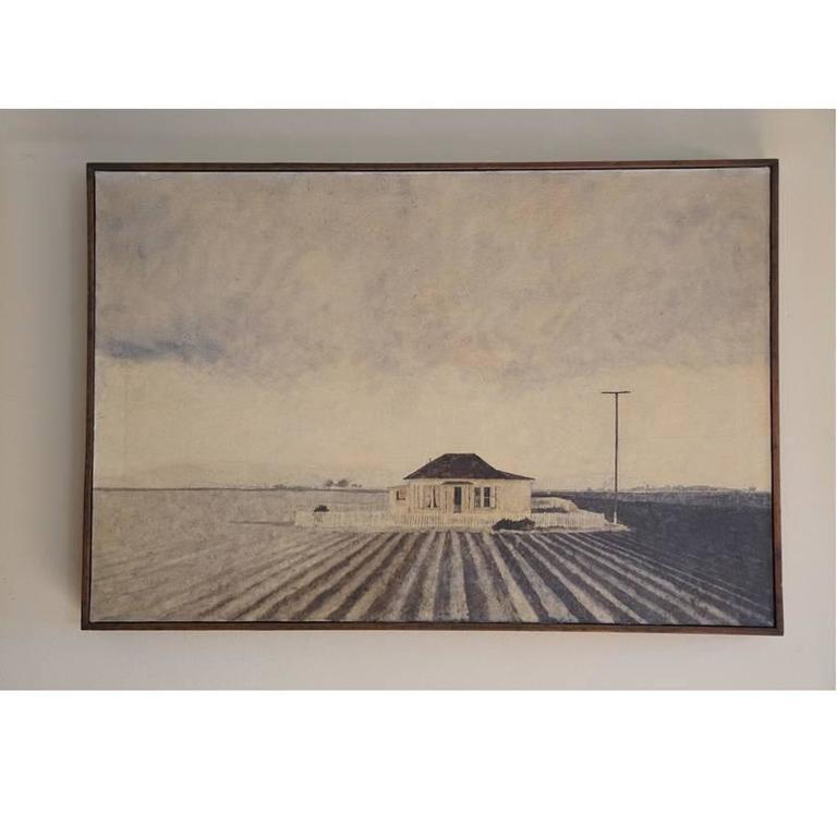 Farmhouse by Ron Wagner