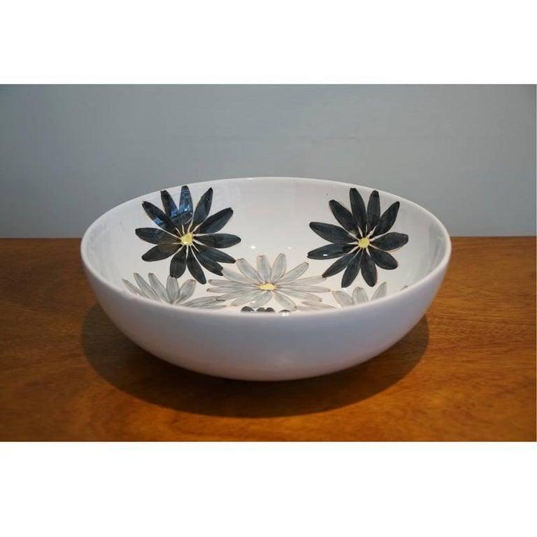 Salerno Italy 20th century bowl, circa 1953.
