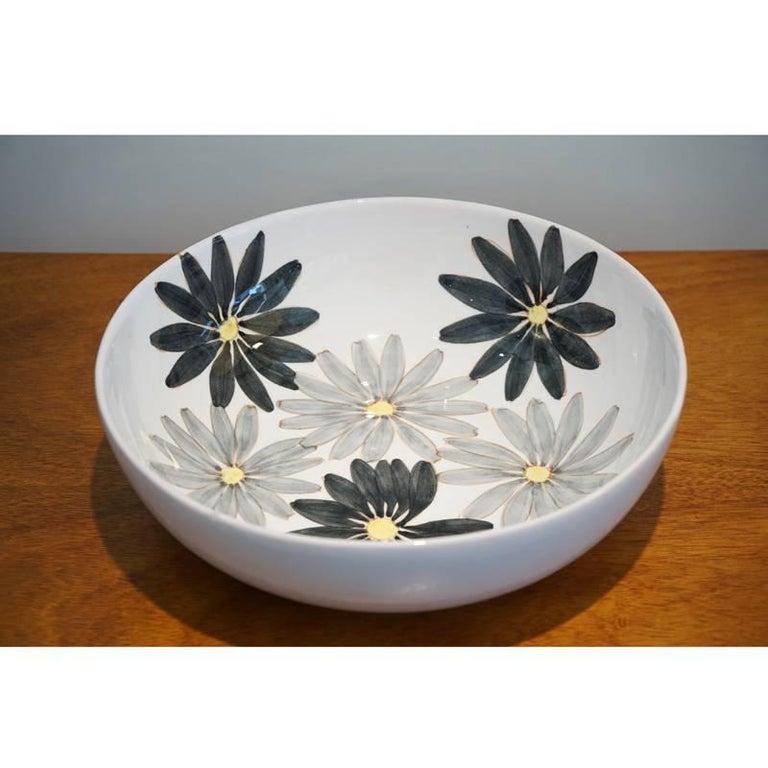 Maiolica Ceramics Ernestine Hand-Painted Maiolica For Sale