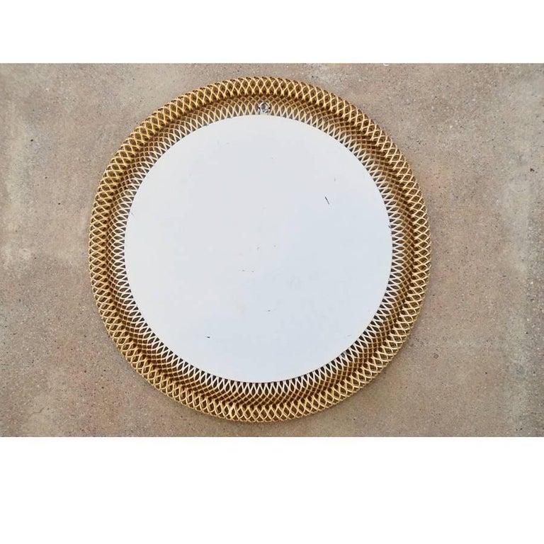 Austrian Metal Basket Mirror 5