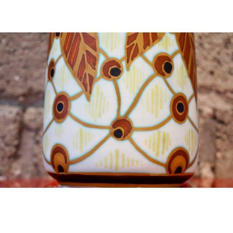 Art Deco Charles Catteau Vase D.963 For Sale