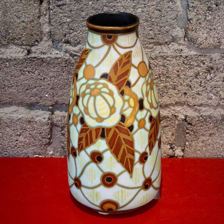 Belgian Charles Catteau Vase D.963 For Sale