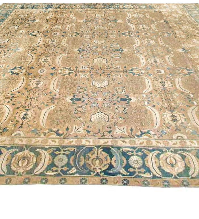 Extra Large Antique Indian Rug For Sale At 1stdibs