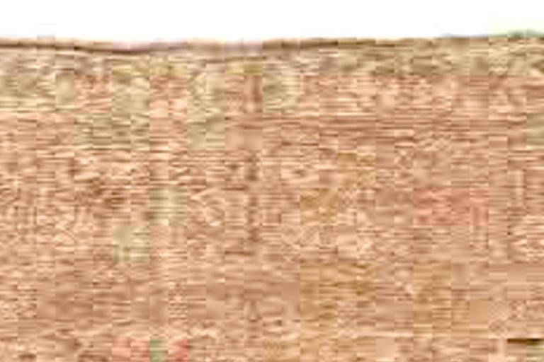 20th Century Samarkand Vintage Rug For Sale