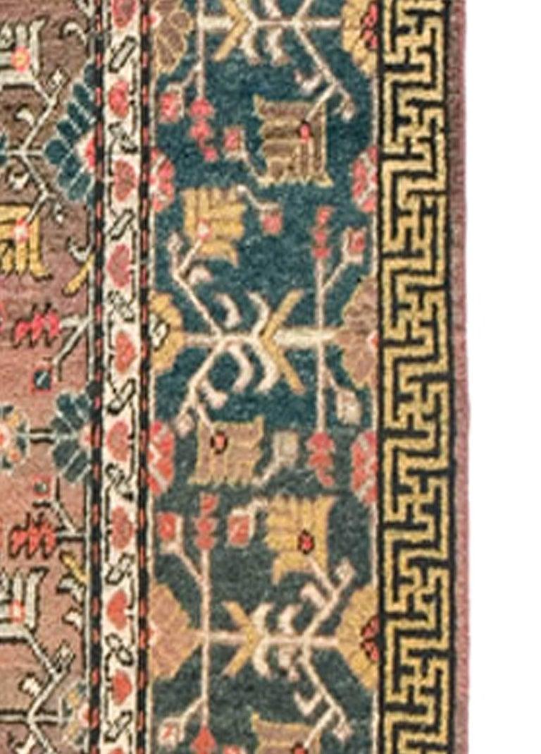 Turkestan Vintage Samarkand 'Khotan' Rug For Sale