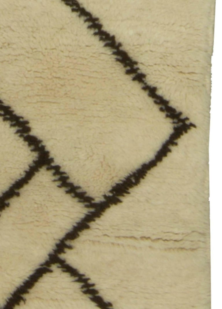 Hand-Woven Moroccan Rug For Sale