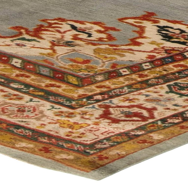 Antique Persian Sultanabad Rug For Sale 1