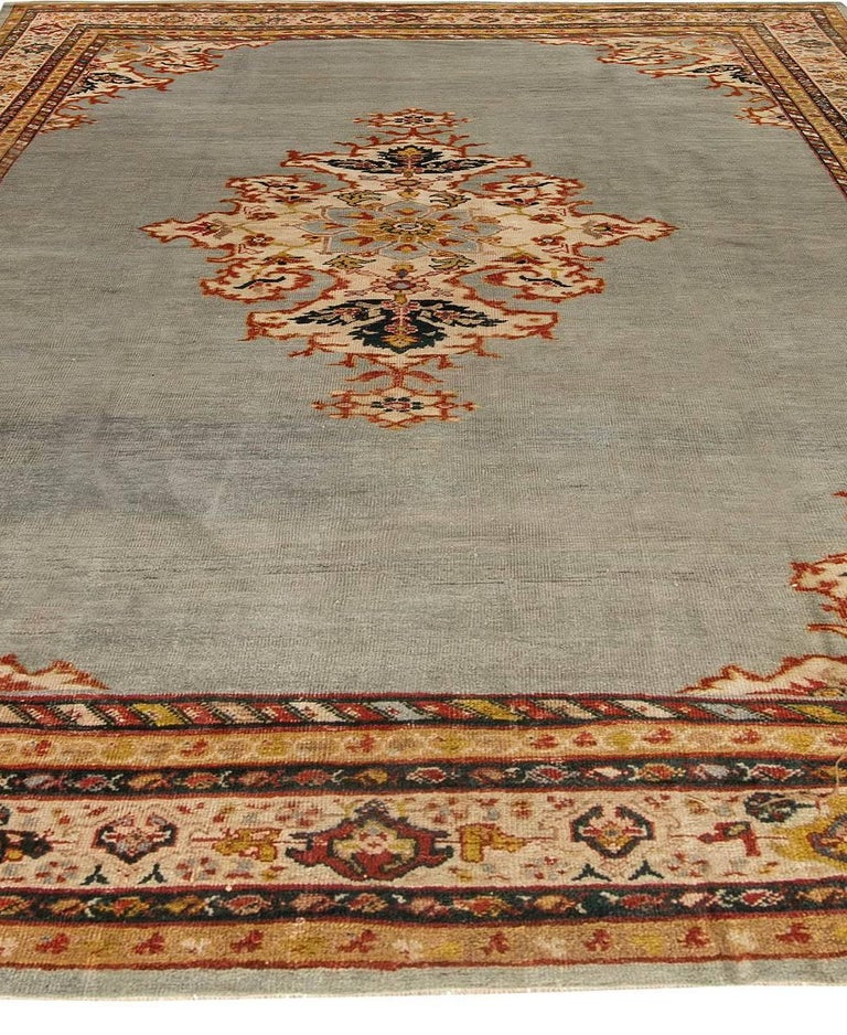 20th Century Antique Persian Sultanabad Rug For Sale