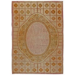 Vintage French Deco Carpet