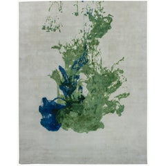 Green Colordrop Rug