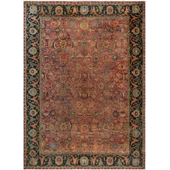 Antique Esfahan Carpet