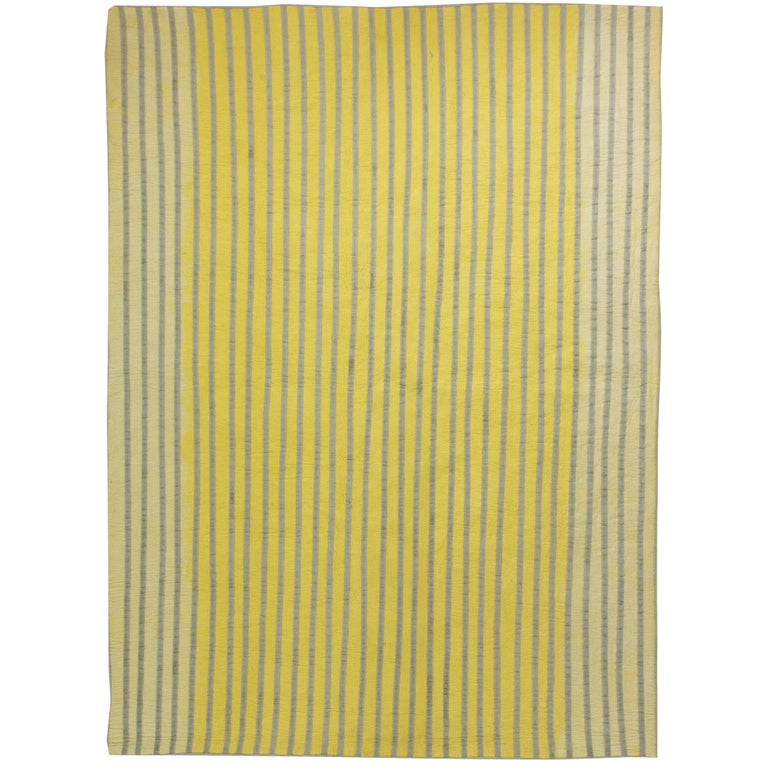 Yellow Reversible Rug For Sale At 1stdibs