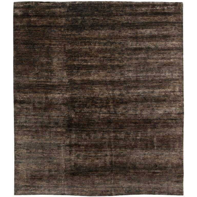 Brown Custom Hemp Carpet