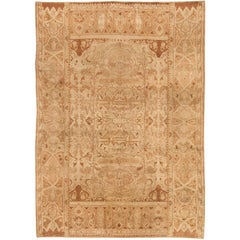 Beige Antique Indian Amritsar Rug