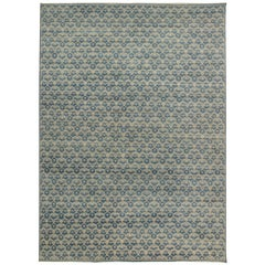 Blue Ornamental Rug