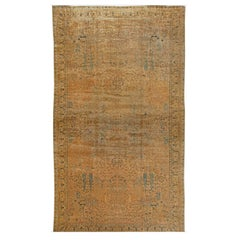 Oversized Antique North Indian Rug