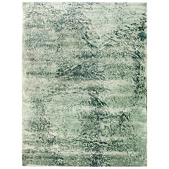 Green Water Design Rug III