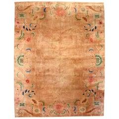 Vintage Chinese Deco Carpet