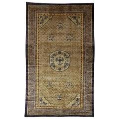 Vintage Chinese Silk Rug