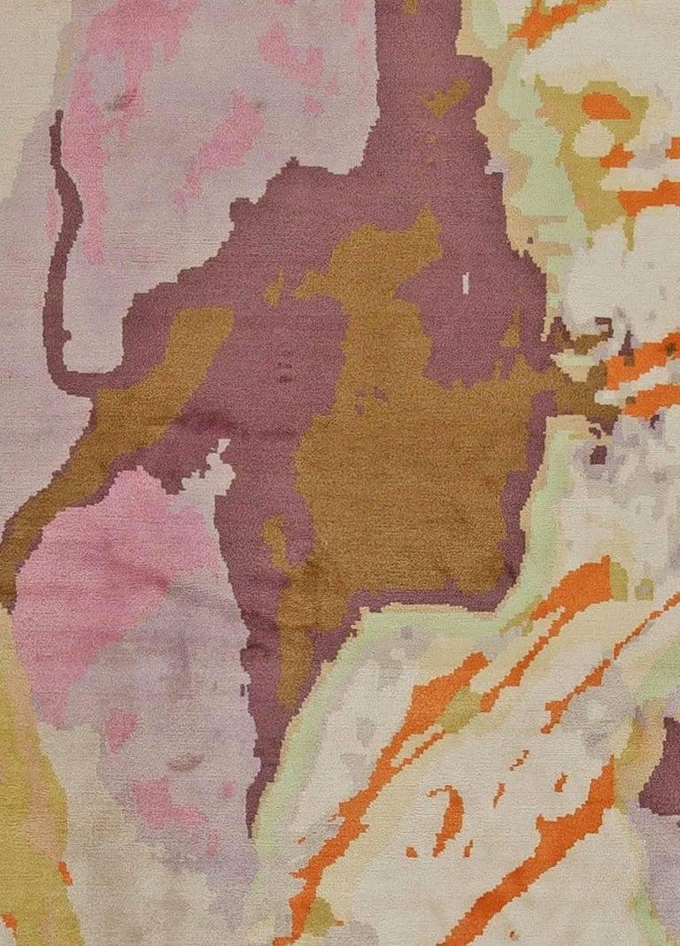 Modern Eskayel-Madagascar rug. Size: 12'0