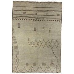 Vintage Inspired Moroccan Rug
