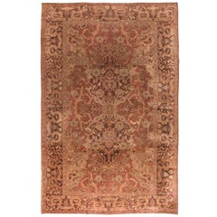 Vintage Turkish Hereke Carpet