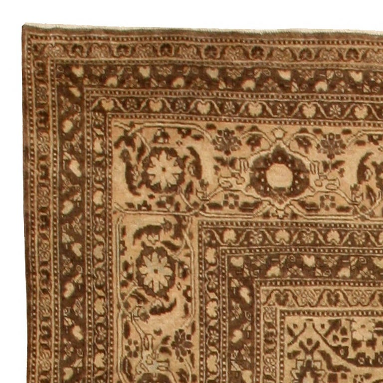 Antique Persian Tabriz Rug For Sale 1