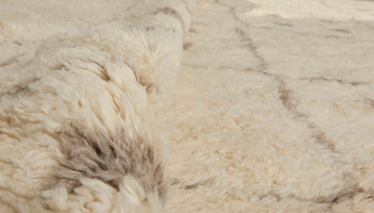 Wool Moroccan Carpet For Sale