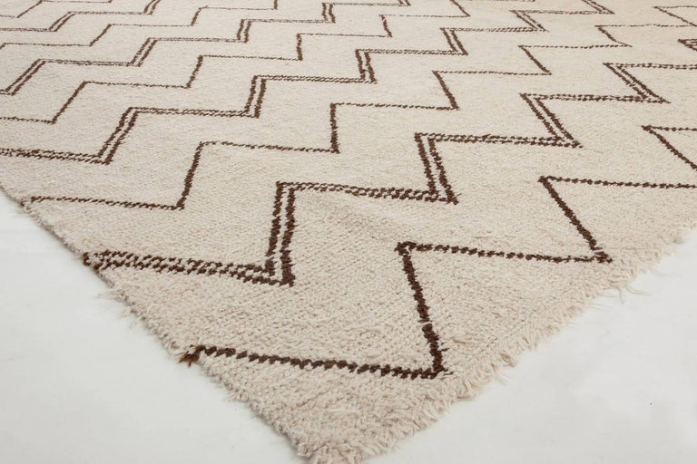 Custom Moroccan Rug In New Condition For Sale In New York, NY