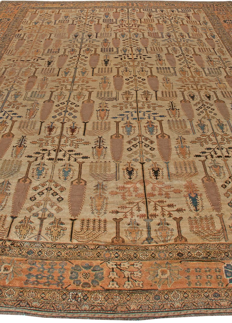 Other Antique Persian Bakhtiari Rug For Sale