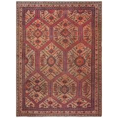 19th Century Crab Carpet
