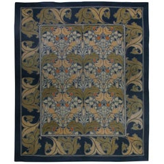 Vintage Arts and Crafts Voysey Rug