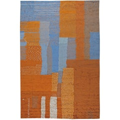 Large Abstract Moroccan Rug