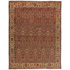 Vintage Persian Sultanabad Rug