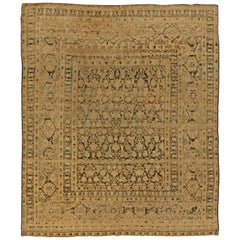 Antique Persian Meshad Rug 'Size Adjusted'