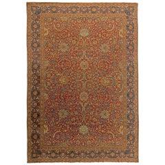 Türkischer Hereke Antiker Teppich