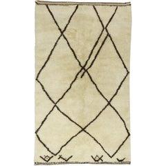 Beige Moroccan Rug