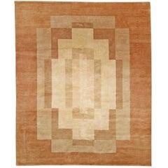 Deco Inspired Tibetan Rug