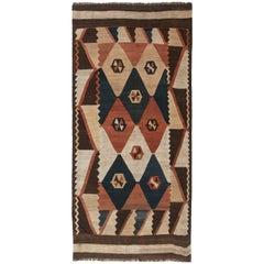 Brown Antique Etno Labijar Rug