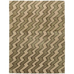 Beige Contemporary Rug