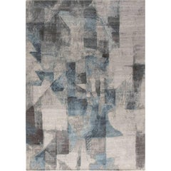 Modern Gray Braque Rug