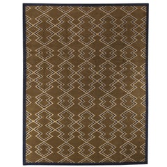 Aztec Dark Brown Rug