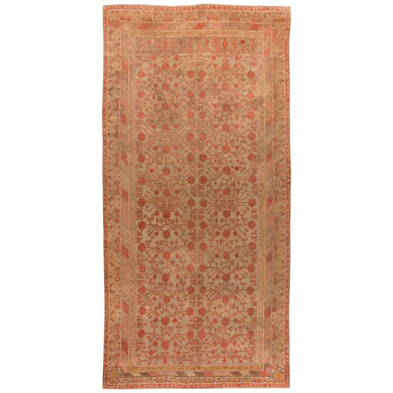 Vintage Samarkand Rug For Sale