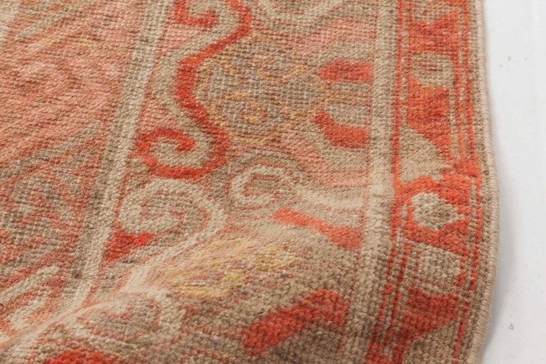 Khotan Vintage Samarkand Rug For Sale