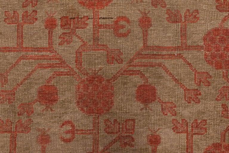 Vintage Samarkand rug Size: 7'6