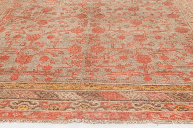Central Asian Vintage Samarkand Rug For Sale