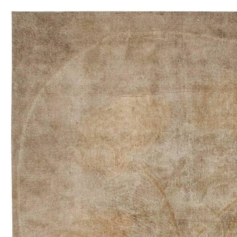 Vintage Irish Donegal rug Size: 11'10