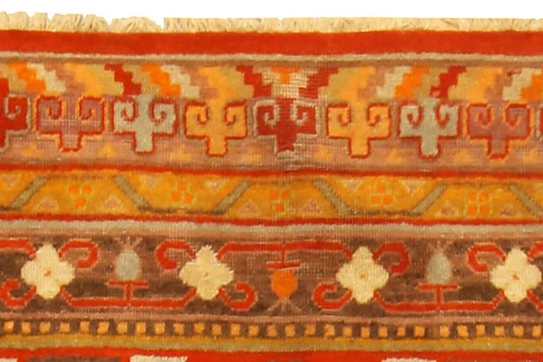 Vintage Khotan 'Samarkand' Rug In Good Condition For Sale In New York, NY