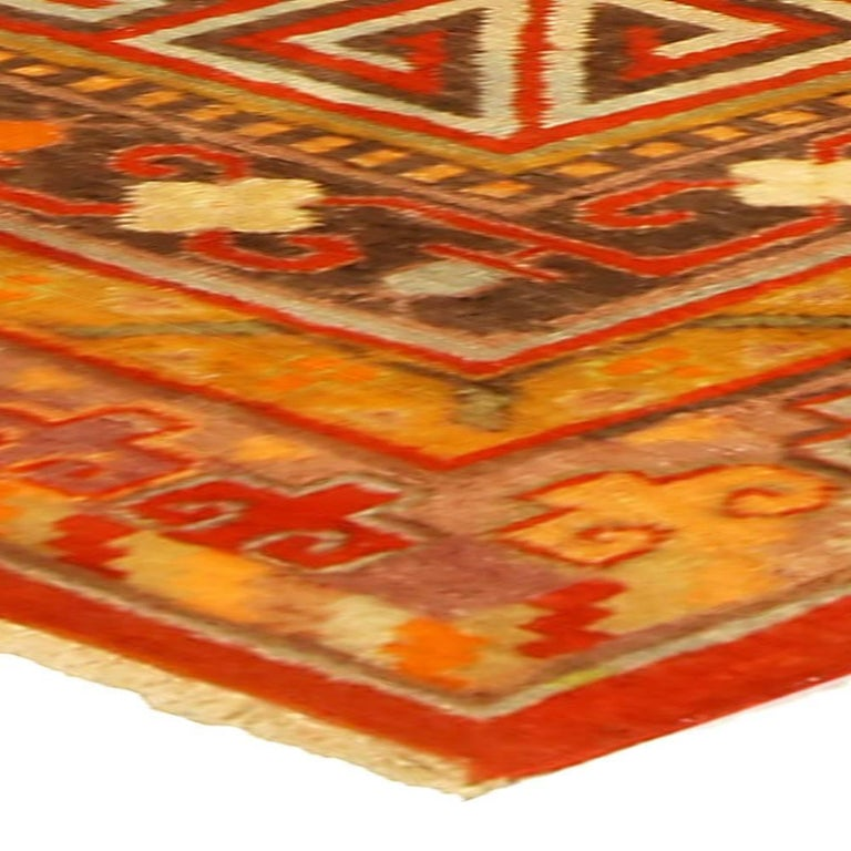 Wool Vintage Khotan 'Samarkand' Rug For Sale